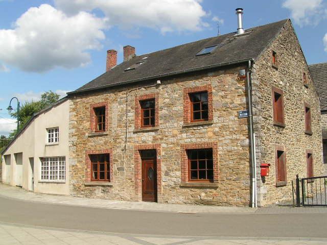 Het vakantiehuis Au Bord du Lincon voor 8 personen in de Belgische Ardennen.