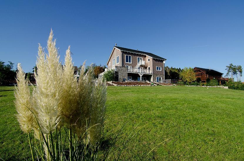 Het vakantiehuis Chalet Durbuy voor 18 personen te Septon bij Durbuy in de Belgische Ardennen